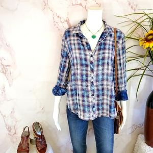 Anthropologie Cloth & Stone soft cotton shirt